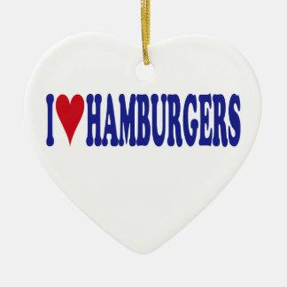 I Liebe-Hamburger Keramik Ornament