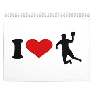 I Liebe-Handball Abreißkalender