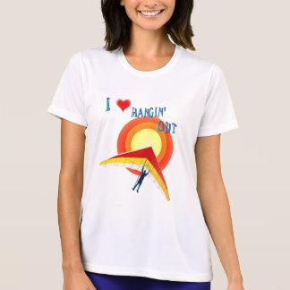 I Liebe Hangin heraus T - Shirt