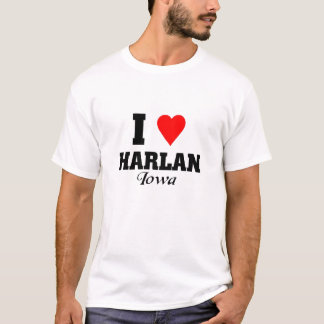 I Liebe Harlan, Iowa T-Shirt