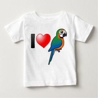 I Liebe-HarlekinMacaws Baby T-shirt