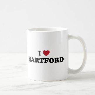 I Liebe Hartford Connecticut Kaffeetasse