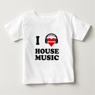 I Liebe-Haus-Musik Baby T-shirt