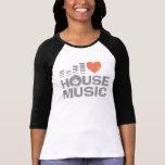 I Liebe-Haus-Musik Shirt