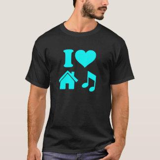 I Liebe-Haus-Musik-Shirt T-Shirt