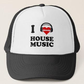 I Liebe-Haus-Musik Truckerkappe