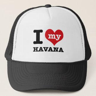 I Liebe Havana Truckerkappe