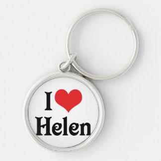 I Liebe Helen Schlüsselanhänger
