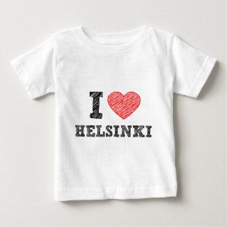 I Liebe Helsinki Baby T-shirt
