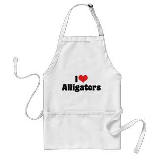 I Liebe-Herz-Alligatoren Schürze