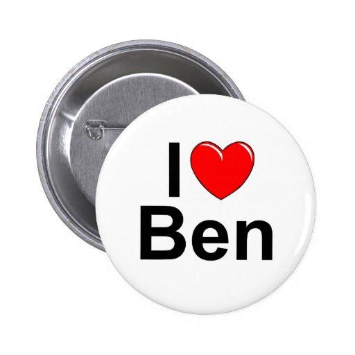 I Liebe (Herz) Ben Buttons