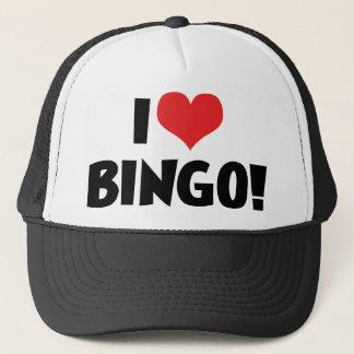 I Liebe-Herz-Bingo! - Bingo-Liebhaber Truckerkappe