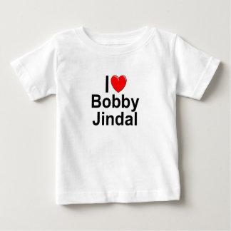 I Liebe (Herz) Bobby Jindal Baby T-shirt