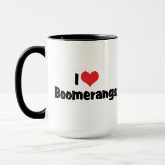 I Liebe-Herz-Bumerangs Tasse