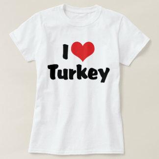 I Liebe-Herz die Türkei - T-Shirt