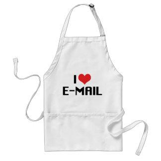 I Liebe-Herz-E-Mail Schürze