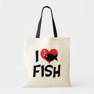 I Liebe-Herz-Fische - Aquarium-Liebhaber Tragetasche