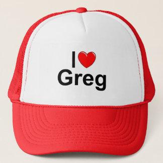 I Liebe (Herz) Greg Truckerkappe