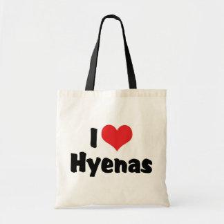 I Liebe-Herz-Hyänen Tragetasche