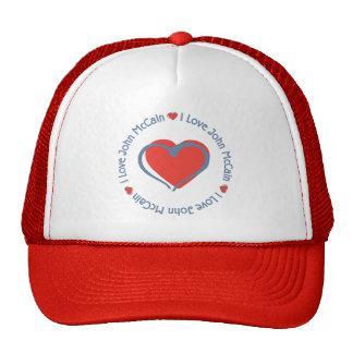 I Liebe-Herz John McCain Kultkappe
