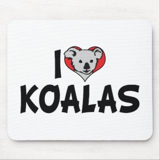 I Liebe-Herz-Koala - Koala-Bärn-Liebhaber Mousepads