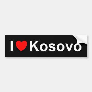 I Liebe-Herz Kosovo Autoaufkleber
