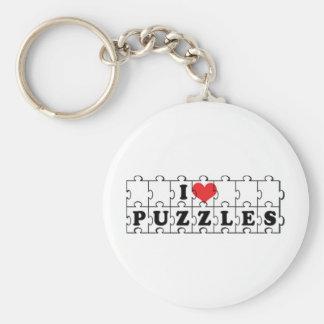 I Liebe-Herz-Kreuzworträtsel - Schlüsselanhänger