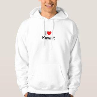 I Liebe-Herz Kuwait Hoodie