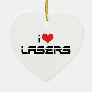 I Liebe-Herz-Laser - Wissenschafts-u. Keramik Ornament