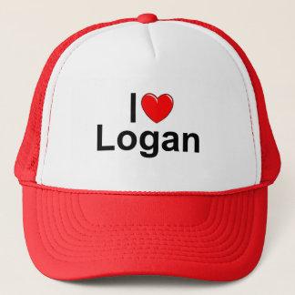 I Liebe (Herz) Logan Truckerkappe