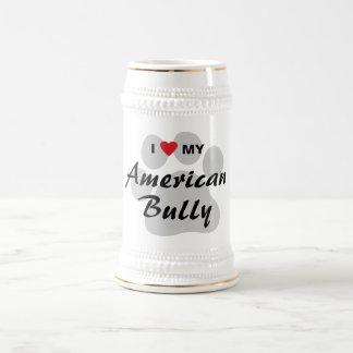 I Liebe (Herz) mein amerikanischer Tyrann Kaffeehaferl