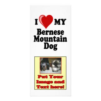 I Liebe (Herz) mein Bernese Gebirgshund Werbekarte
