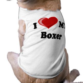I Liebe (Herz) mein Boxer-Hund Top