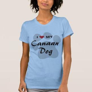 I Liebe (Herz) mein Canaan Hund T-Shirt