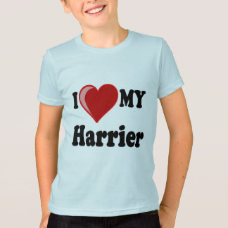 I Liebe (Herz) mein Geländeläufer-Hund T-Shirt