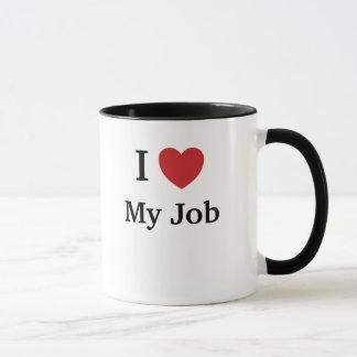 I Liebe (Herz) mein Job - lustige Gründe warum! Tasse