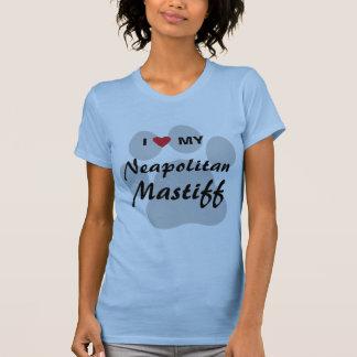I Liebe (Herz) mein neapolitanischer Mastiff T-Shirt