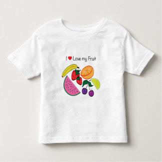 I Liebe (Herz) meine Frucht… niedlich Hemden