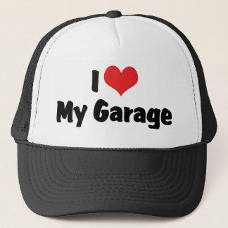 I Liebe-Herz meine Garage - Truckerkappe