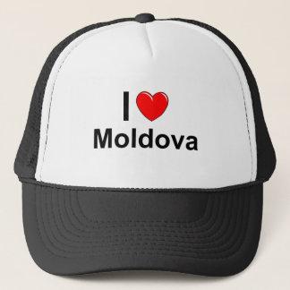 I Liebe-Herz Moldau Truckerkappe