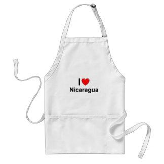 I Liebe-Herz Nicaragua Schürze