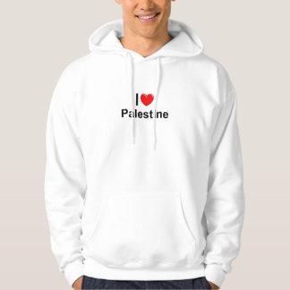 I Liebe-Herz Palästina Hoodie