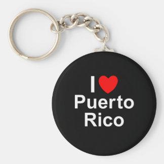 I Liebe-Herz Puerto Rico Schlüsselanhänger