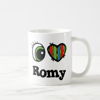 I Liebe (Herz) Romy Tasse