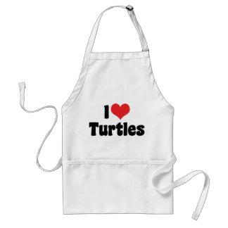 I Liebe-Herz-Schildkröten Schürze