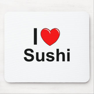 I Liebe-Herz-Sushi Mousepad