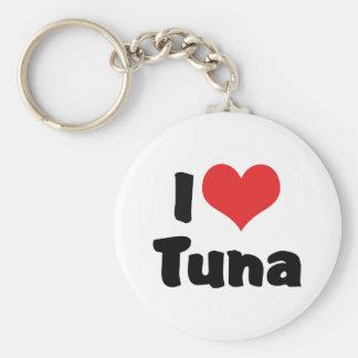 I Liebe-Herz-Thunfisch Schlüsselanhänger