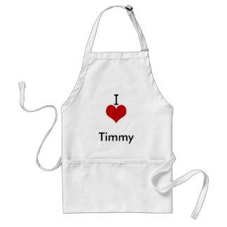 I Liebe (Herz) Timmy Schürze