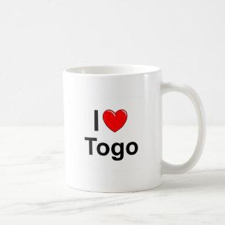 I Liebe-Herz Togo Kaffeetasse