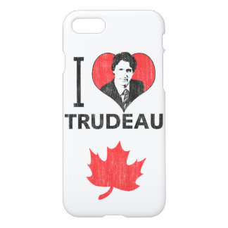 I Liebe (Herz) Trudeau iPhone 8/7 Hülle